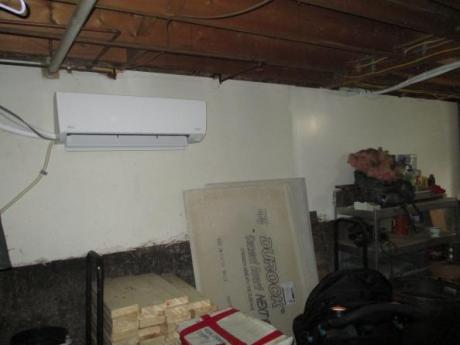 Unit in basement