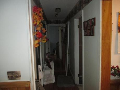 hallway through home