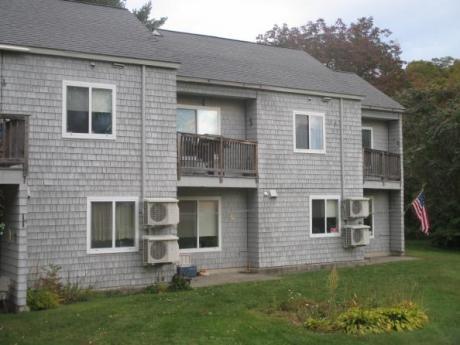 four units on exterior of condominium