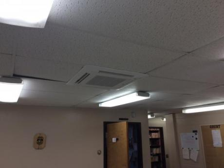 pump in ceiling
