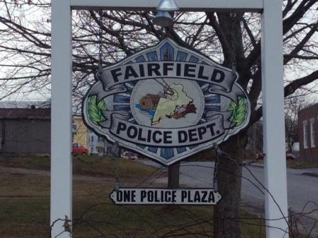 Fairfield Police Department sign